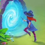 Charms of the Witch Magic Mystery Match 3 Games MOD Unlimited Money 2.15.0
