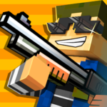 Cops N Robbers – 3D Pixel Craft Gun Shooting Games MOD Unlimited Money 9.6.2