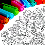 Mandala Coloring Pages MOD Unlimited Money 14.2.0