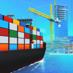 Sea Port Build Town Ship Cargo in Strategy Sim MOD Unlimited Money 1.0.115