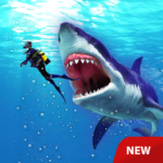 Angry Shark Attack – Wild Shark Game 2019 MOD Unlimited Money 1.0.3