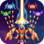 Galaxy Raid Space shooter MOD Unlimited Money 3.0.1