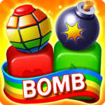 Toy Bomb Blast Match Toy Cubes Puzzle Game MOD Unlimited Money 3.60.5009