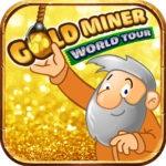 Gold Miner World Tour Gold Rush Puzzle RPG Game MOD Unlimited Money 1.7.5