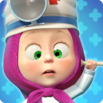 Masha and the Bear Free Animal Games for Kids MOD Unlimited Money 3.9.5
