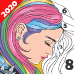 Paint Color Coloring by Number for Adults MOD Unlimited Money 2.0.10