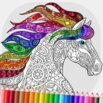 Relaxing Adult Coloring Book MOD Unlimited Money 2.2
