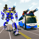 Bus Robot Car Transform War Police Robot games Premium Cracked 2.8