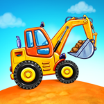 Truck games for kids – build a house car wash MOD Unlimited Money 4.0.6