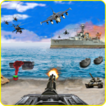 Call of Beach Defense FPS Free Fun 3D Games MOD Unlimited Money 1.1