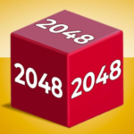Chain Cube 2048 3D merge game MOD Unlimited Money 1.23.04