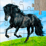 Horse Jigsaw Puzzles Game – For Kids Adults MOD Unlimited Money 25.1