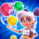 Huuuge Bubble Pop Story MOD Unlimited Money Varies with device