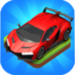 Merge Car game free idle tycoon MOD Unlimited Money 1.1.12