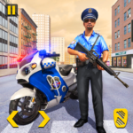 Police Moto Bike Chase Free Shooting Games MOD Unlimited Money 2.0.12