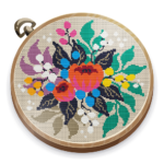 Cross Stitch Club Color by Numbers with a Hoop MOD Unlimited Money 1.4.26