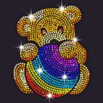Diamond Coloring – Sequins Art Paint by Numbers MOD Unlimited Money 1.3.4