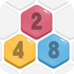 HexPopMergenumber to 2048 Free PuzzleGames MOD Unlimited Money 2.001