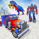 Police Truck Robot Game Transforming Robot Games MOD Unlimited Money 1.0.4