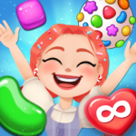 Candy Go Round – 1 Free Candy Puzzle Match 3 Game MOD Unlimited Money 1.4.1