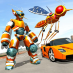 Mosquito Robot Car Game – Transforming Robot Games MOD Unlimited Money 1.0.8