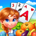 Solitaire Tripeaks Farm Adventure MOD Unlimited Money 1.886.1