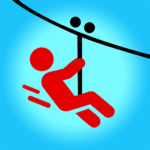 Zipline Valley – Physics Puzzle Game MOD Unlimited Money 1.8