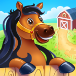 Animal Farm for Kids. Toddler games. MOD Unlimited Money 2.0.11