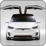 Electric Car Simulator 2021 City Driving Model X MOD Unlimited Money 1.6