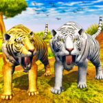 Virtual Tiger Family Simulator Wild Tiger Games MOD Unlimited Money 1.2