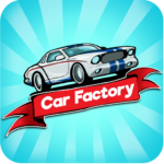 Idle Car Factory Car Builder Tycoon Games 2021 MOD Unlimited Money 12.8.2