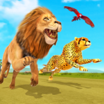 Savanna Animal Racing 3D Wild Animal Games MOD Unlimited Money 1.0