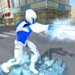 Snow Storm Super Human Flying Ice Superhero War MOD Unlimited Money 1.0.5
