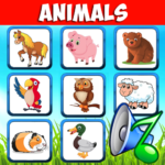 Animal sounds. Learn animals names for kids MOD Unlimited Money 6.6