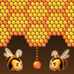 Bubble Bee Pop – Colorful Bubble Shooter Games MOD Unlimited Money 1.3.6