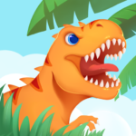 Dinosaur Island T-Rex Games for kids in jurassic MOD Unlimited Money 1.0.6
