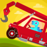 Dinosaur Rescue – Truck Games for kids Toddlers MOD Unlimited Money 1.1.0