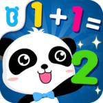 Little Panda Math Genius – Education Game For Kids MOD Unlimited Money 8.52.00.00