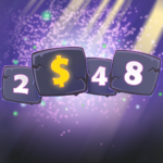 Lucky 2048 puzzle cards MOD Unlimited Money 1.0.4