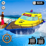Cruise Captain Water Boat Taxi Simulator MOD Unlimited Money 1.9