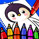 Happy Coloring Book Learn Paint Coloring Games MOD Unlimited Money 0.10
