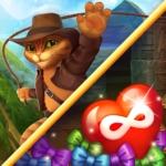 Indy Cat 2 Match 3 free game – jigsaw puzzles MOD Unlimited Money 1.0