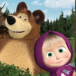 Masha and the Bear. Educational Games MOD Unlimited Money 5.5