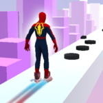SuperHeroes Skates Sky Roller MOD Unlimited Money 0.5