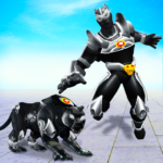 Flying Panther Robot Hero GameCity Rescue Mission MOD Unlimited Money