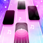 Magic Pink Tiles Piano Game MOD Unlimited Money 1.0.0