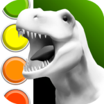 Dinosaurs 3D Coloring Book MOD Unlimited Money