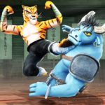 Kung Fu Animal Fighting Games Wild Karate Fighter MOD Unlimited Money