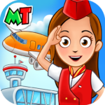 My Town Airport Free MOD Unlimited Money
