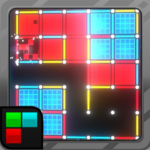 Dots and Boxes Neon 80s Style Cyber Game Squares MOD Unlimited Money